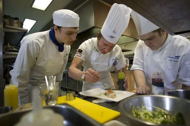 Catering and hospitality apprentices
